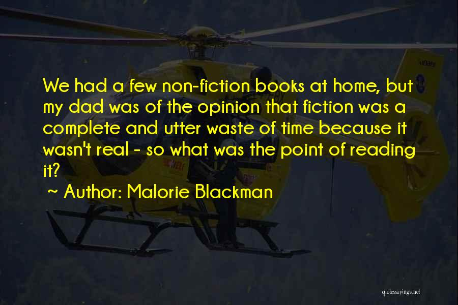 A Real Dad Quotes By Malorie Blackman