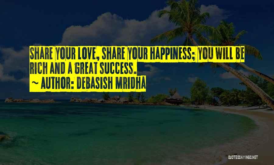 A Rich Life Quotes By Debasish Mridha