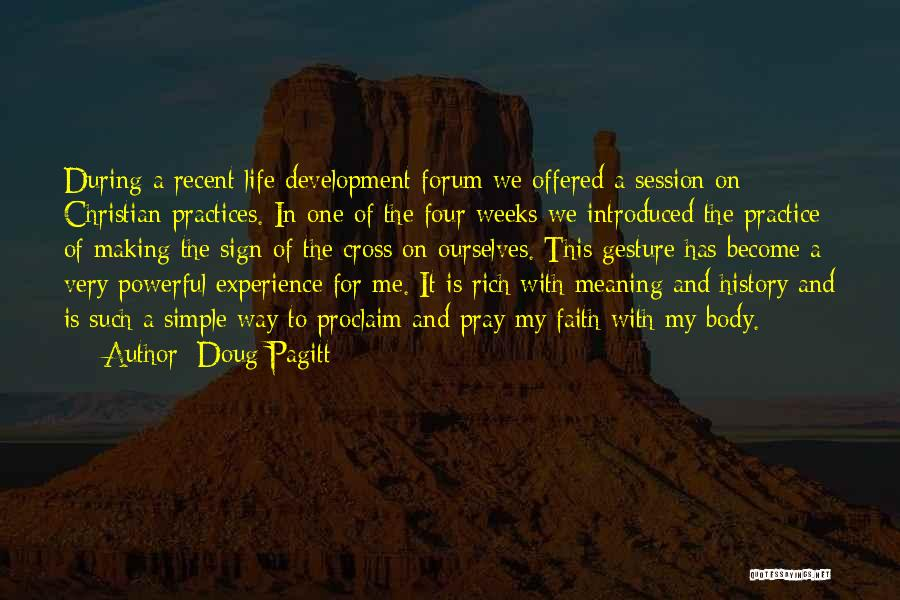 A Rich Life Quotes By Doug Pagitt