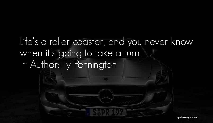 A Roller Coaster Life Quotes By Ty Pennington