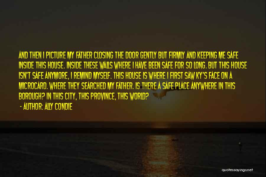 A Safe Place Quotes By Ally Condie