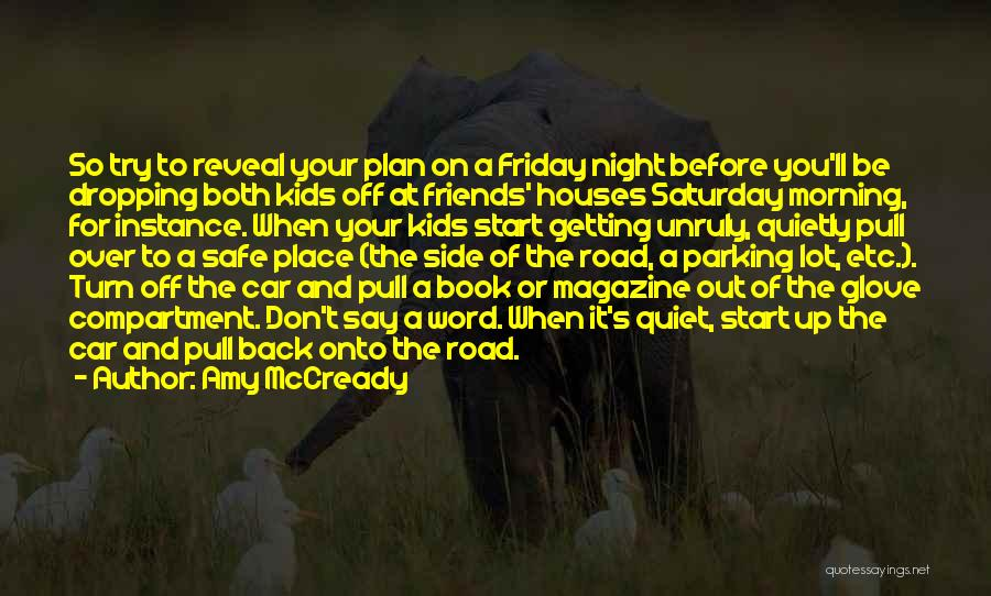 A Safe Place Quotes By Amy McCready