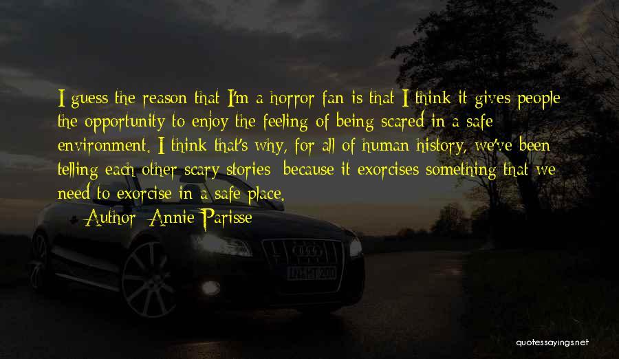 A Safe Place Quotes By Annie Parisse
