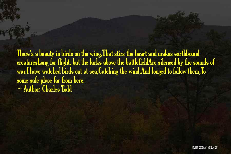 A Safe Place Quotes By Charles Todd