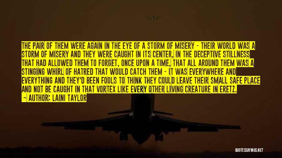 A Safe Place Quotes By Laini Taylor