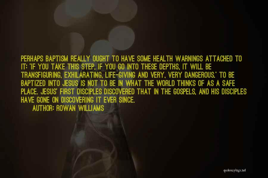 A Safe Place Quotes By Rowan Williams