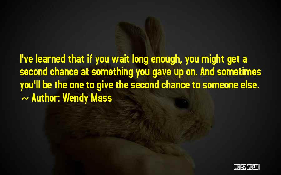 Top 100 Quotes & Sayings About A Second Chance