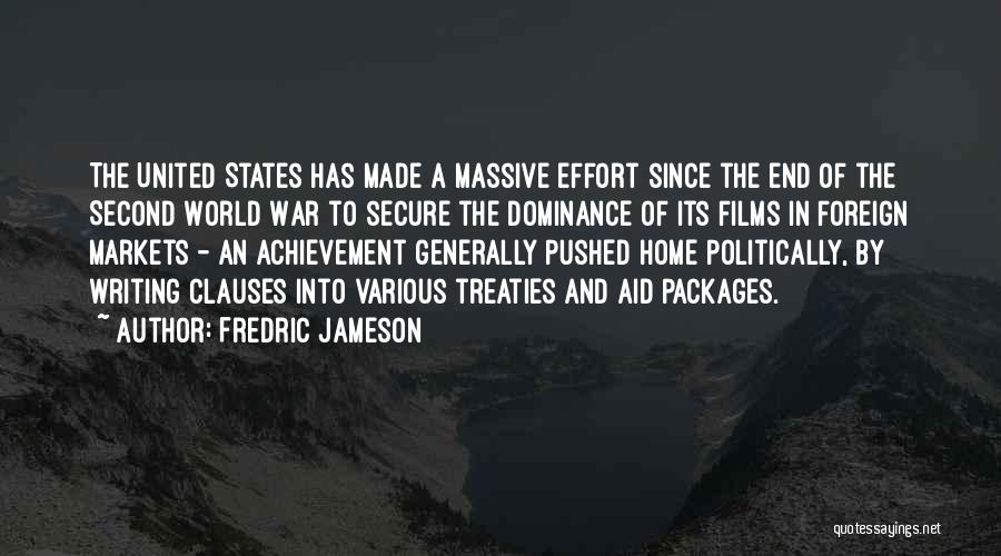A Second Home Quotes By Fredric Jameson