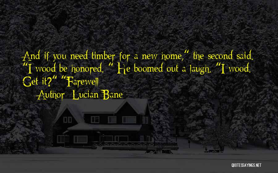 A Second Home Quotes By Lucian Bane