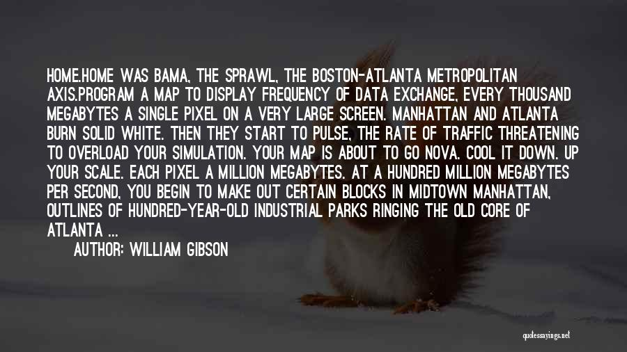 A Second Home Quotes By William Gibson