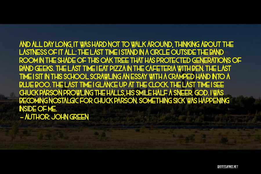 A Shade Tree Quotes By John Green