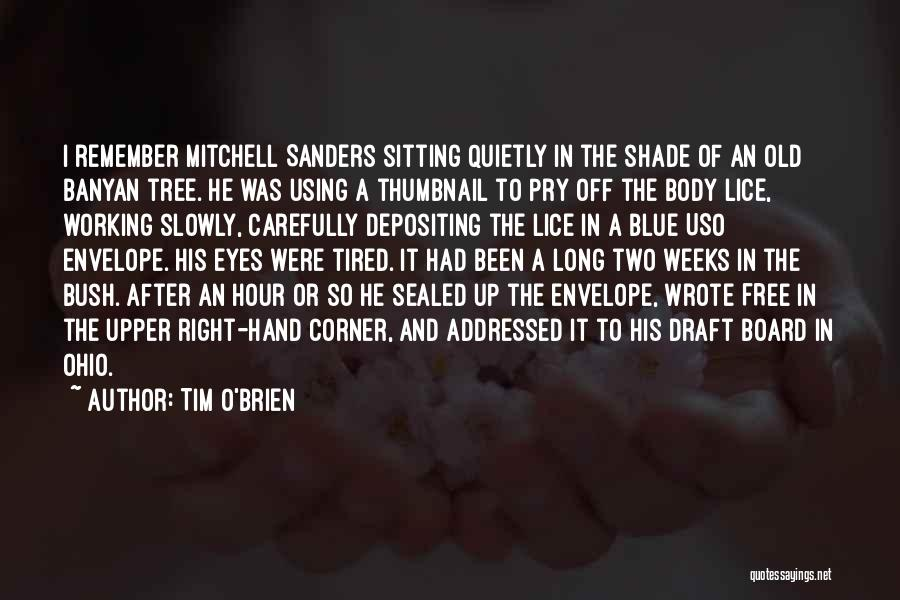 A Shade Tree Quotes By Tim O'Brien