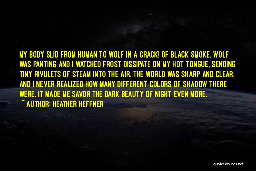 A Sharp Tongue Quotes By Heather Heffner