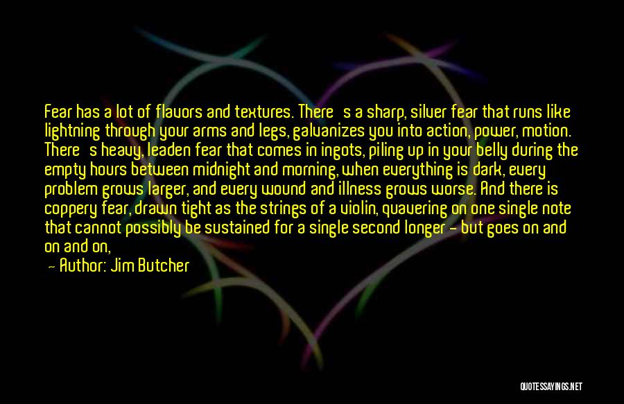 A Sharp Tongue Quotes By Jim Butcher