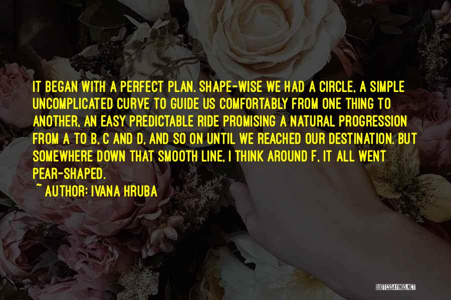 A Simple Plan Quotes By Ivana Hruba