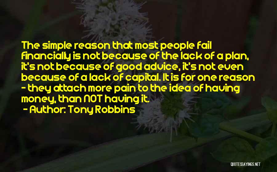 A Simple Plan Quotes By Tony Robbins