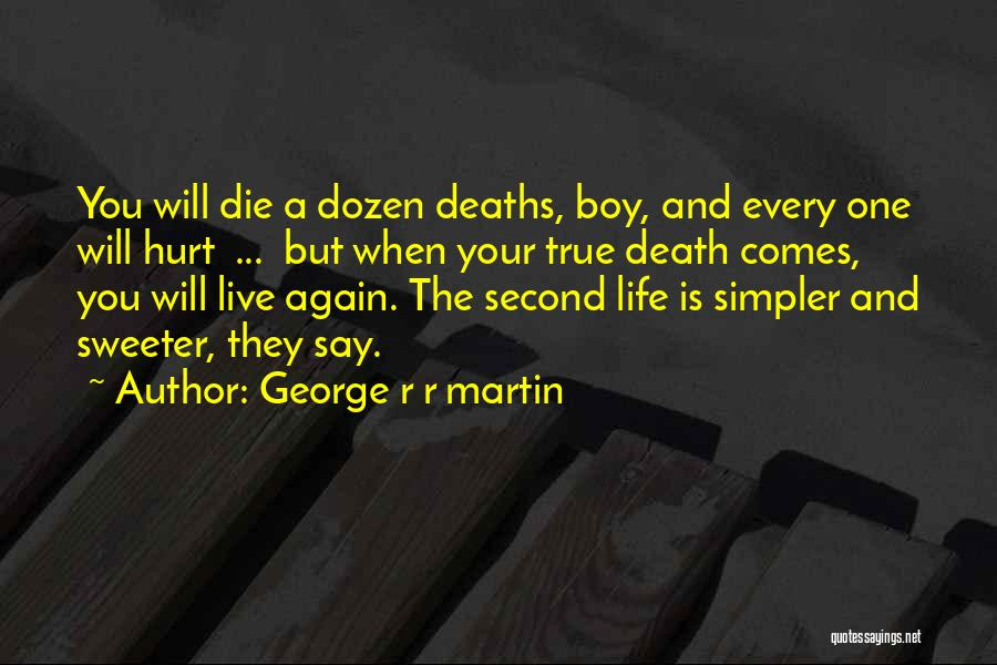 A Simpler Life Quotes By George R R Martin