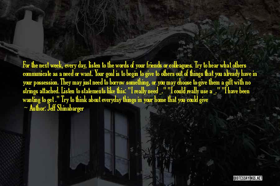 A Simpler Life Quotes By Jeff Shinabarger