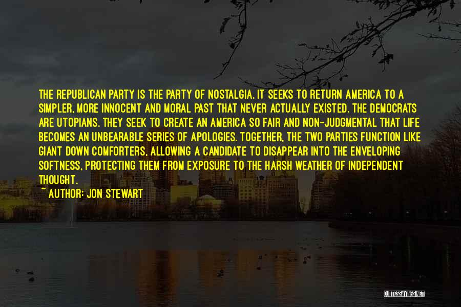 A Simpler Life Quotes By Jon Stewart