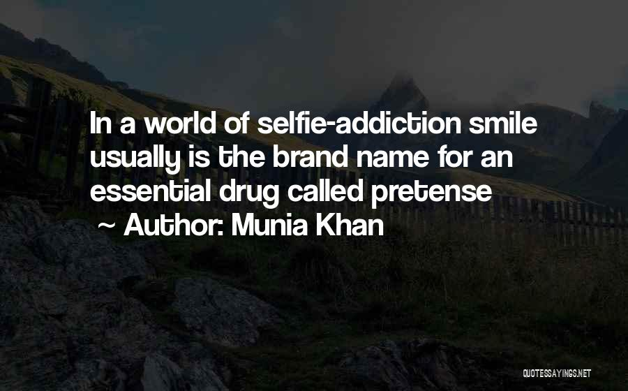 A Smile Is A Quotes By Munia Khan