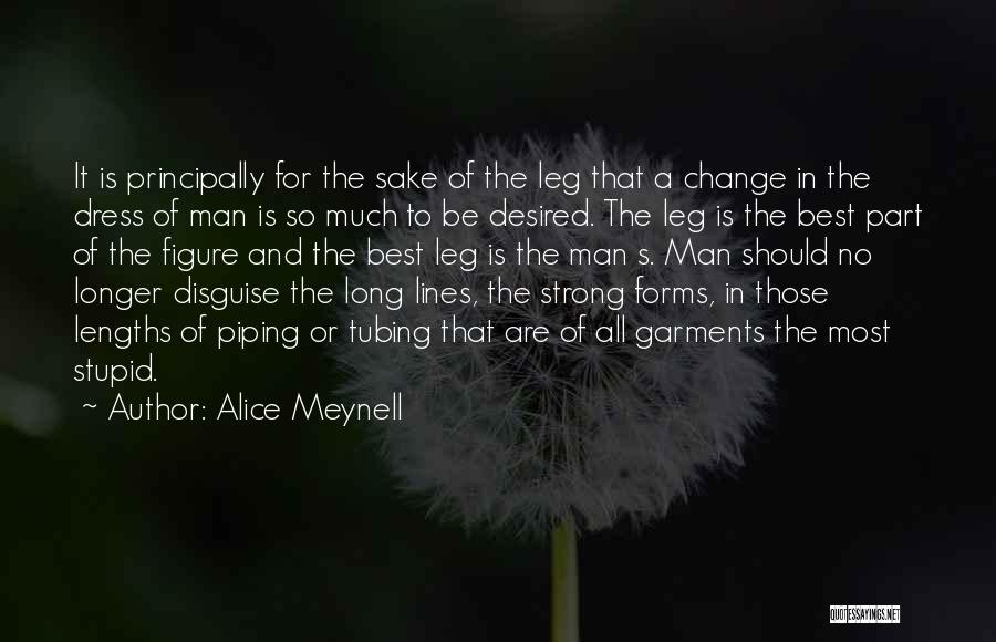 A Strong Man Is Quotes By Alice Meynell