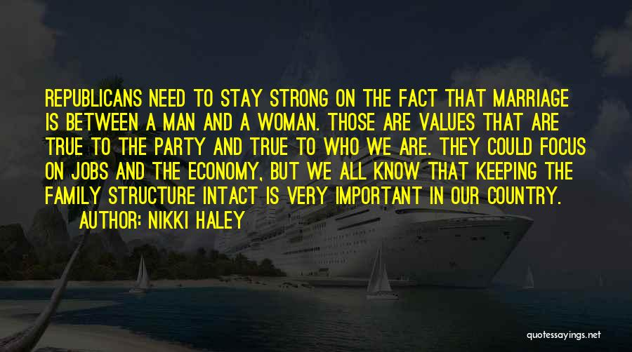 A Strong Man Is Quotes By Nikki Haley