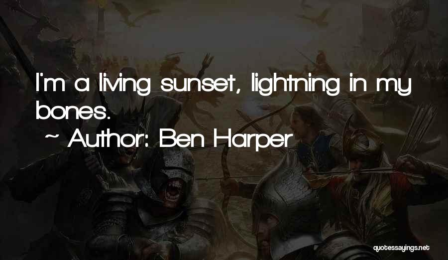 A Sunset Quotes By Ben Harper