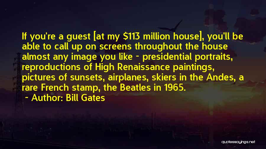 A Sunset Quotes By Bill Gates