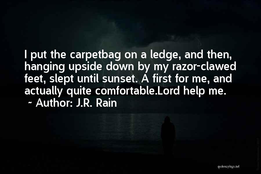 A Sunset Quotes By J.R. Rain