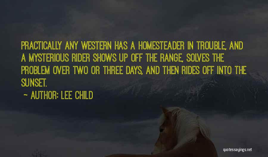 A Sunset Quotes By Lee Child