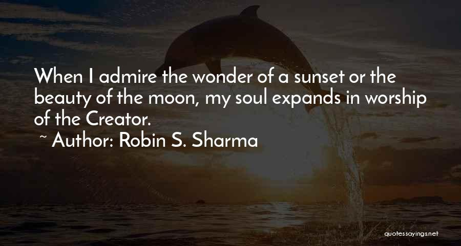 A Sunset Quotes By Robin S. Sharma