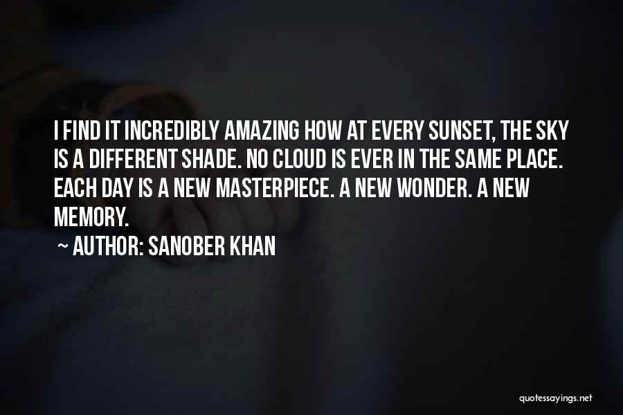 A Sunset Quotes By Sanober Khan