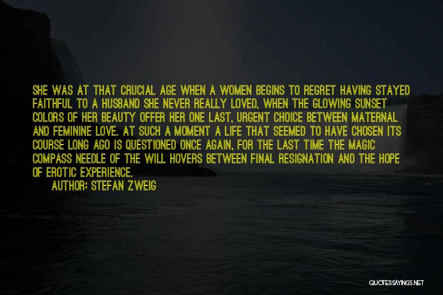 A Sunset Quotes By Stefan Zweig
