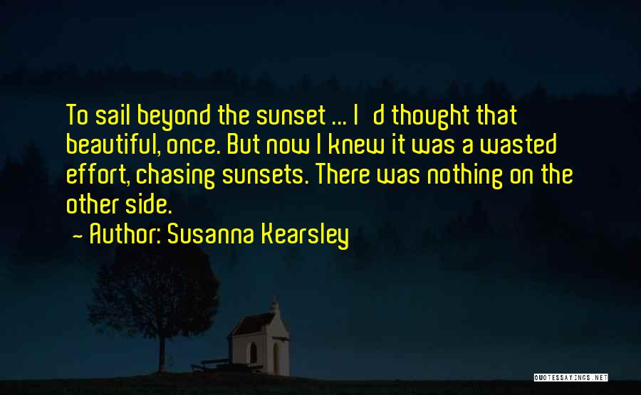 A Sunset Quotes By Susanna Kearsley