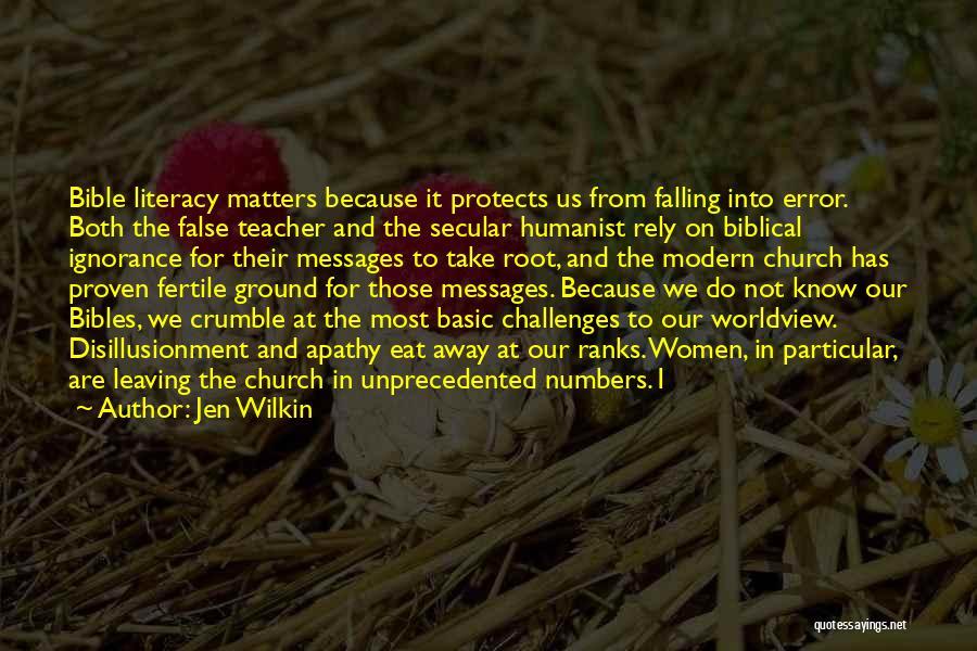 A Teacher Leaving Quotes By Jen Wilkin