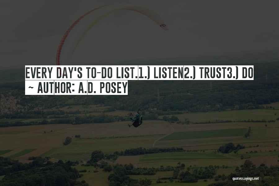 A To Z List Of Inspirational Quotes By A.D. Posey