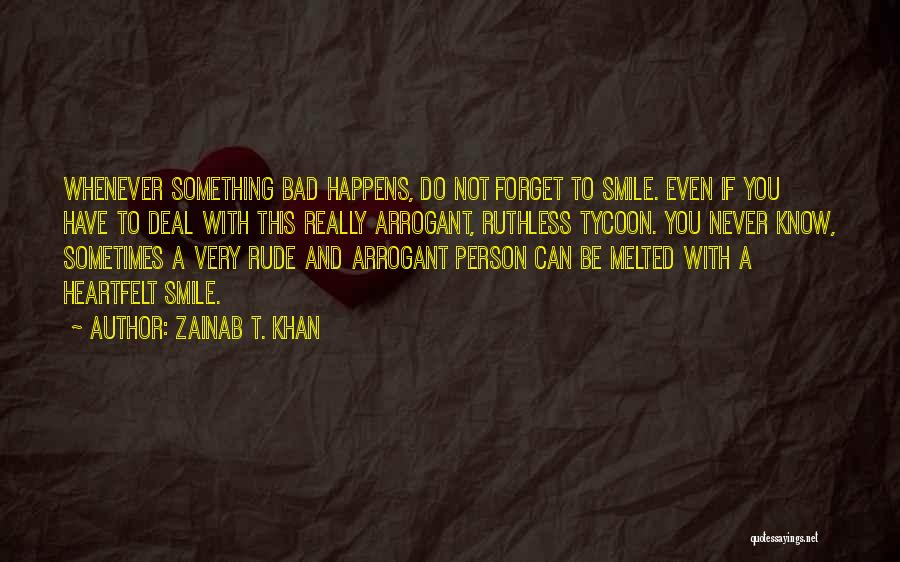 A To Z List Of Inspirational Quotes By Zainab T. Khan