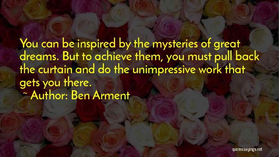 A To Z Mysteries Quotes By Ben Arment