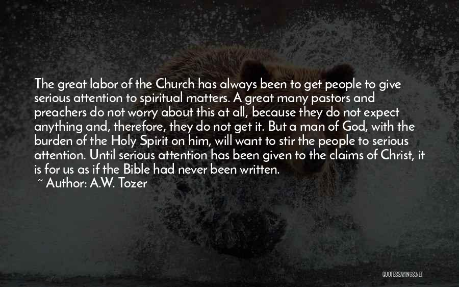 A.W. Tozer Quotes 1247775