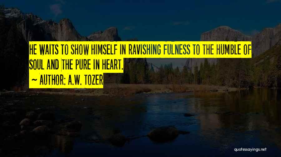 A.W. Tozer Quotes 349918