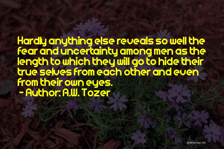 A.W. Tozer Quotes 384042
