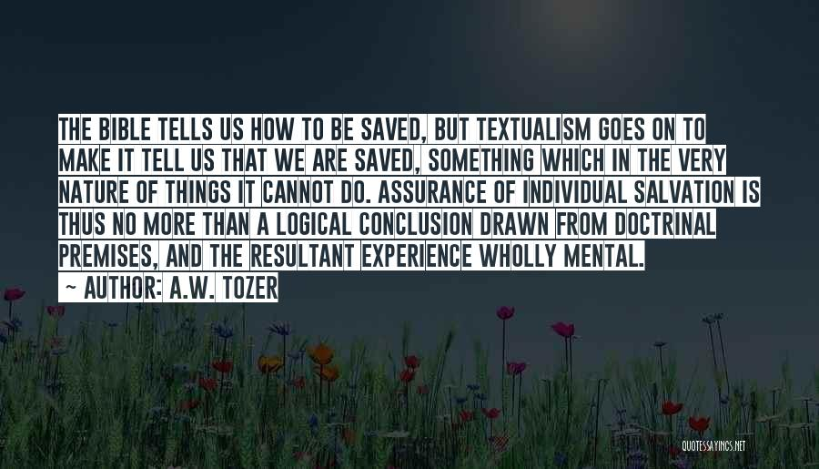 A.W. Tozer Quotes 399857