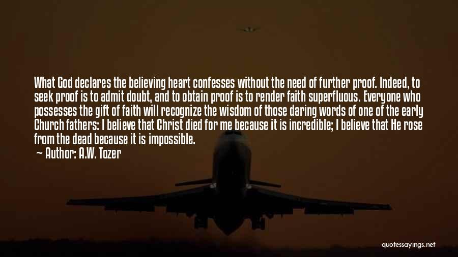 A.W. Tozer Quotes 619785