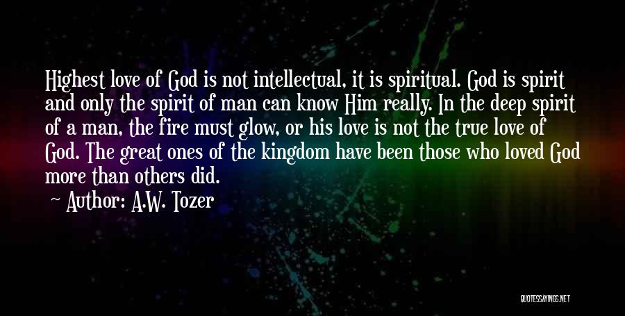 A.W. Tozer Quotes 681745