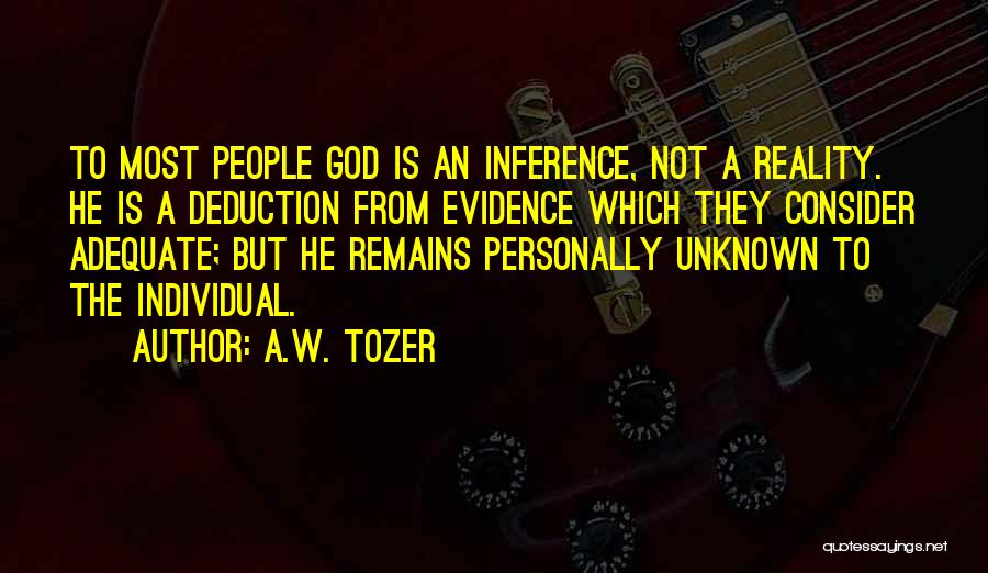A.W. Tozer Quotes 801966