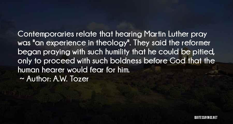 A.W. Tozer Quotes 905481