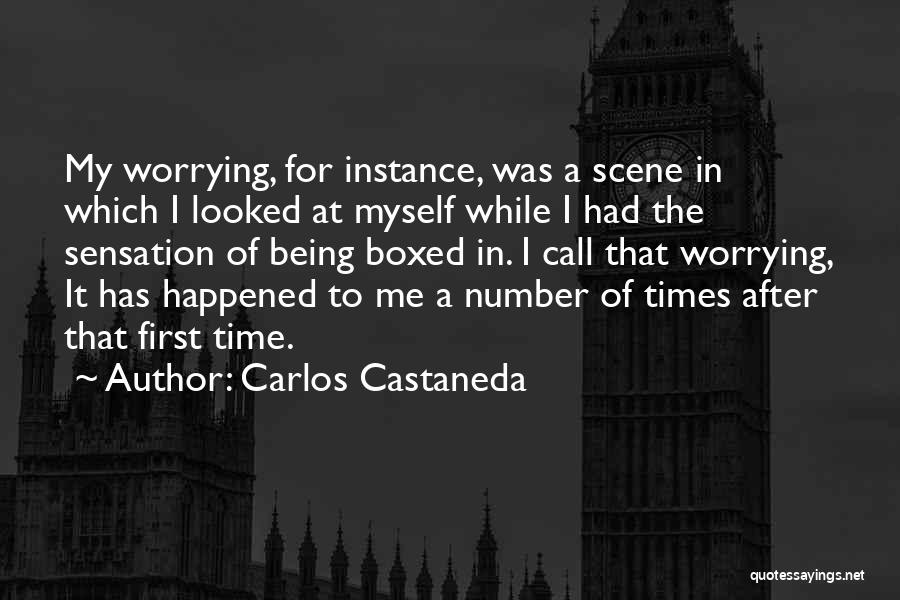 A While Quotes By Carlos Castaneda