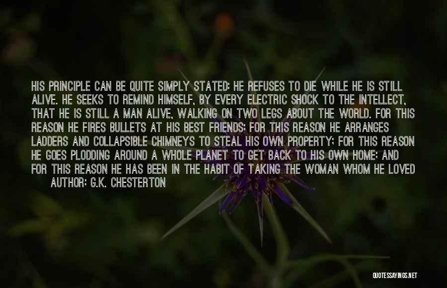 A While Quotes By G.K. Chesterton
