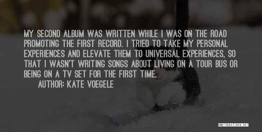 A While Quotes By Kate Voegele