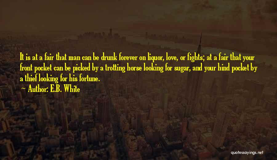 A White Horse Quotes By E.B. White